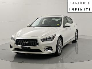 Used 2018 Infiniti Q50 Luxe 2.0 Turbo AWD Leather  1 Owner Navigation Sunroof No Accidents for sale in Winnipeg, MB