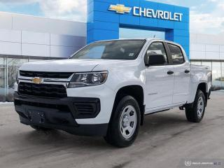 New 2021 Chevrolet Colorado 4WD Work Truck The Best Deals to come in 2021 for sale in Winnipeg, MB