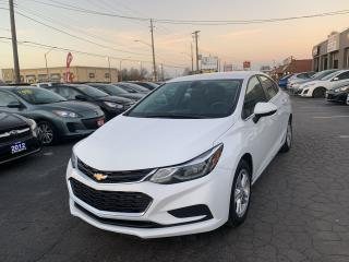 Used 2017 Chevrolet Cruze LT for sale in Hamilton, ON