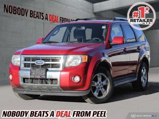 Used 2010 Ford Escape 4WD 4dr V6 Auto Limited for sale in Mississauga, ON