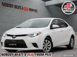 Used 2014 Toyota Corolla 4dr Sdn CVT LE for sale in Mississauga, ON