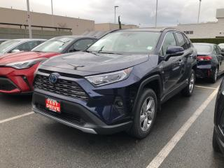 New 2021 Toyota RAV4 Hybrid Limited for sale in North Vancouver, BC