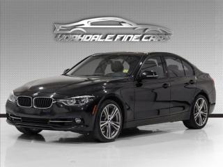 Used 2017 BMW 3 Series 330i xDrive Sport Line, Rare Red Leather,Navigation, for sale in Concord, ON