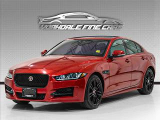 Used 2017 Jaguar XE I4 R-Sport, Navigation, Camera, Roof, Rare Colour Combo for sale in Concord, ON