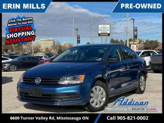 Used 2015 Volkswagen Jetta Trendline 2.0 6sp at  ONLY 30K! REAR CAM AUTOMATIC  for sale in Mississauga, ON