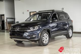 Used 2016 Volkswagen Tiguan 2.0 TSI+CAM/RECUL+AIR+GR.ELECT+MAGS for sale in Laval, QC