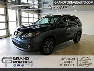Used 2016 Nissan Rogue Traction intégrale SL **Cuir**GPS** for sale in Rivière-Du-Loup, QC