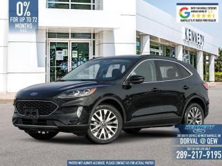New 2020 Ford Escape Titanium Hybrid for sale in Oakville, ON