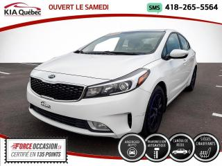 Used 2017 Kia Forte LX+* CARPLAY* CAMERA* SIEGES CHAUFFANTS* for sale in Québec, QC