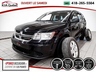 Used 2016 Dodge Journey SE* AUTOMATIQUE* A/C* MAGS* BIZONE* for sale in Québec, QC