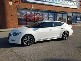 Used 2017 Nissan Maxima SV for sale in Mississauga, ON