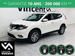 Used 2015 Nissan Rogue SL AWD GPS CUIR TOIT ** GARANTIE 10 ANS ** Une version tout équipé! for sale in Shawinigan, QC