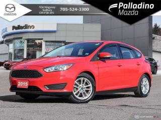 Used 2015 Ford Focus SE - BACKUP CAMERA - BLUETOOTH - CLEAN HISTORY for sale in Sudbury, ON