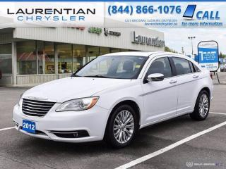 Used 2012 Chrysler 200 Limited!!  SELF CERTIFY!! for sale in Sudbury, ON