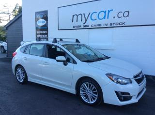 Used 2016 Subaru Impreza 2.0i Sport Package SUNROOF, HEATED SEATS, UPGRADED ALLOYS!! for sale in North Bay, ON