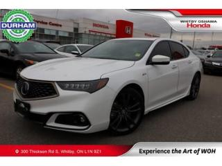 Used 2020 Acura TLX for sale in Whitby, ON