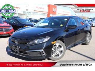 Used 2020 Honda Civic LX | CVT for sale in Whitby, ON