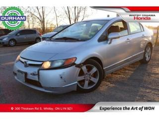 Used 2008 Honda Civic LX | Automatic for sale in Whitby, ON