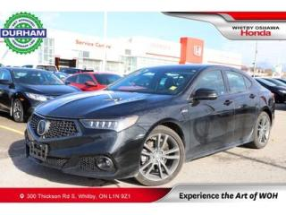 Used 2019 Acura TLX for sale in Whitby, ON