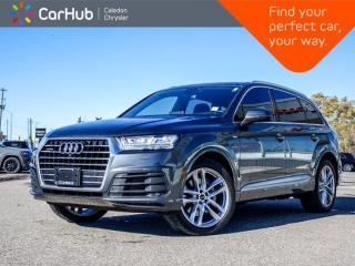 Used 2017 Audi Q7 3.0T Technik Quattro 7 Seater Navigation Panoramic Sunroof Leather Bluetooth Backup Camera 21