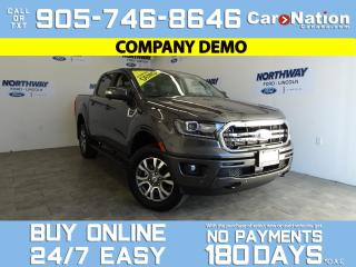 Used 2020 Ford Ranger LARIAT   4X4   SUPERCREW   501A   TRAILER TOW PKG for sale in Brantford, ON