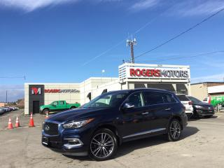 Used 2016 Infiniti QX60 2.99% Financing - AWD - 7 PASS - DVD - PANO ROOF - LEATHER for sale in Oakville, ON