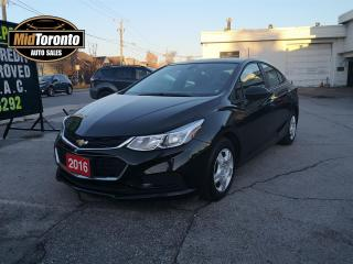 Used 2016 Chevrolet Cruze LS   Low Kilometres   One Owner   No Accidents for sale in North York, ON