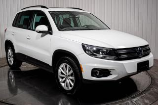 Used 2017 Volkswagen Tiguan WOLFSBURG 4MOTION TSI CUIR TOIT PANO MAG for sale in St-Hubert, QC