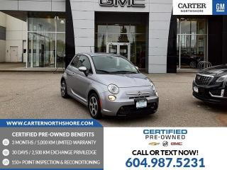 Used 2017 Fiat 500 E Navigation - Heated Seats - Backup Cam for sale in North Vancouver, BC