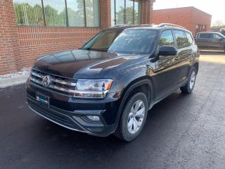 Used 2018 Volkswagen Atlas 3.6 FSI Comfortline 10 to Choose From! Leather, Heated Steering, Adaptive Cruise for sale in Woodbridge, ON