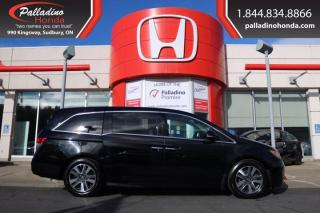 Used 2015 Honda Odyssey Touring w/RES & Navi - FULLY LOADED WIDESCREEN DVD PLAYER - for sale in Sudbury, ON