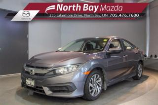 Used 2016 Honda Civic EX - Click Here! Test Drive Appts Available! for sale in North Bay, ON