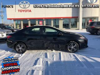 Used 2017 Toyota Corolla LE  - Heated Seats -  Bluetooth for sale in Steinbach, MB