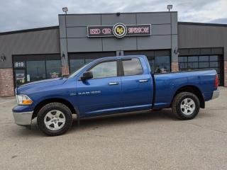 Used 2011 Dodge Ram 1500 4WD Quad Cab 140.5  SLT for sale in Thunder Bay, ON
