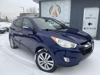 Used 2010 Hyundai Tucson ***LIMITED,AWD,NAVIGATION,CUIR,TOIT PANO for sale in Longueuil, QC