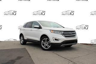 Used 2018 Ford Edge Titanium 3.5L V6, LEATHER, NAVI, AWD, PANO SUNROOF for sale in Hamilton, ON