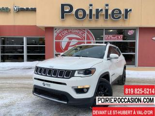 Used 2019 Jeep Compass LIMITED 8 MAGS ET 8 PNEUS for sale in Val-D'or, QC