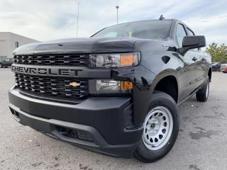 New 2021 Chevrolet Silverado 1500 Work Truck CREW CAB SHORT BOX WITH BENCH SEAT for sale in Carleton Place, ON