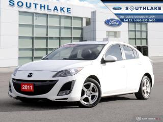 Used 2011 Mazda MAZDA3 GT LEATHER|AUTO|ROOF for sale in Newmarket, ON