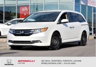 Used 2017 Honda Odyssey EX 8 PASSAGERS BAS KM 8 PNEUS 8 PASSAGERS BAS KM MAGS BLUETOOTH for sale in Lachine, QC