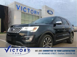 Used 2017 Ford Explorer Platinum| ADAPTIVE CRUISE| NAV| ROOF for sale in Chatham, ON