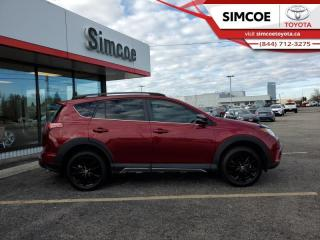 Used 2018 Toyota RAV4 XLE Trail Package  - Certified - $213 B/W for sale in Simcoe, ON