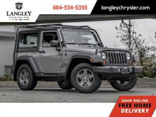 Used 2013 Jeep Wrangler SPORT  Low Km/ Single Owner/ Local/ Bluetooth for sale in Surrey, BC