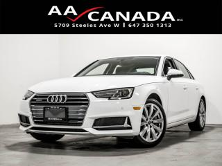 Used 2019 Audi A4 Komfort for sale in North York, ON