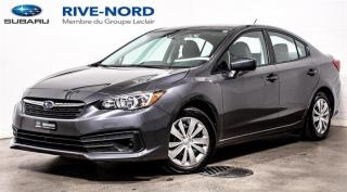 Used 2020 Subaru Impreza Convenience BLUETOOTH+CAM.RECUL+APPLE.CARPLAY for sale in Boisbriand, QC