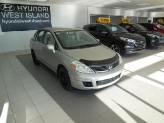 Used 2007 Nissan Versa 1.8 S MANUELLE A/C GROUPE ÉLECTRIQUE for sale in Dorval, QC