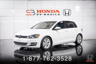 Used 2016 Volkswagen Golf 1.8T + TRENDLINE + A/C + CAMERA + WOW! for sale in St-Basile-le-Grand, QC