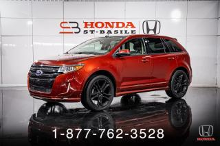 Used 2014 Ford Edge SPORT + AWD + V6 + CUIR + TOIT + WOW! for sale in St-Basile-le-Grand, QC
