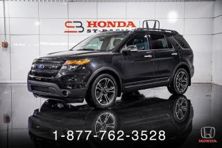 Used 2014 Ford Explorer SPORT + 4WD + CUIR + NAVI + TOIT + WOW! for sale in St-Basile-le-Grand, QC