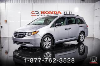 Used 2016 Honda Odyssey SE + 8 PASSAGERS + A/C + CRUISE + WOW! for sale in St-Basile-le-Grand, QC